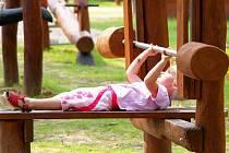 V Liberci v areálu Městského parku vyrostl nový areál pro děti, který dodaly Tomovy Parky.