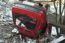 Nehoda v Tanvaldu.