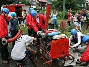 Sbor dobrovolných hasičů Zlatá Olešnice. Dorostenky.