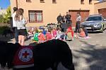 Tentokrát policisté zavítali do příměstského tábora Českého červeného kříže v Jablonci nad Nisou.