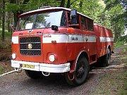 Sbor dobrovolných hasičů Zlatá Olešnice. Zásahové vozidlo.