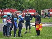 Sbor dobrovolných hasičů Zlatá Olešnice. Okresní kolo hry Plamen 2008.