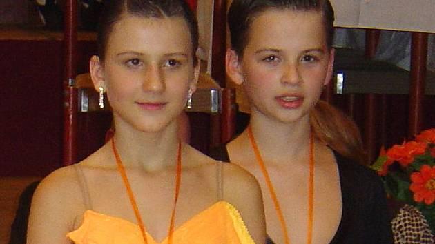 Tanečníci TOP Dance Anne Jägrová a Štěpán Procházka uspěli na Podještědském poháru.