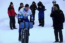 Jan Kopka v tréninku na II. ročník závodu Rovaniemi 150