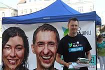 Lídry jsou manželé Josef Šedlbauer a Anna Kšírová. Trojkou jablonecký zastupitel Jakub Macek.