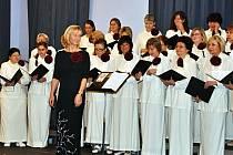 Sbor Janáček a jeho sbormistryně Olga Fröhlichová