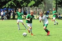 Jablonečtí fotbalisté předvedli silné konkurenci, že fotbal hrát umí.