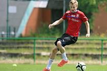 Trénink reprezentace do 21 let. Na snímku Ladislav Krejčí.