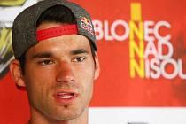 Tomáš Slavík. (Mistr světa 2010) JBC 4X Revelations - závody fourcross na Dobré Vodě.