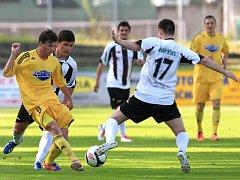 Krajský přebor nabídl na stadionu v Břízkách zajímavé utkání: Mšeno - Semily 2:2.