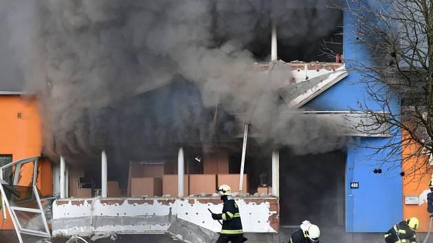Požár v Turnově