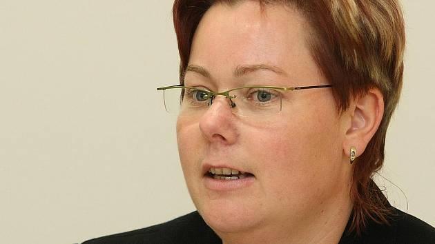 Ředitelka jabloneckého centra pro děti a mládež Kruháč - Michaela Albrechtová.