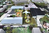 Místo trhů Technopark. Technické muzeum Liberec se chce rozšířit a vzdělávat veřejnost v technických oborech.