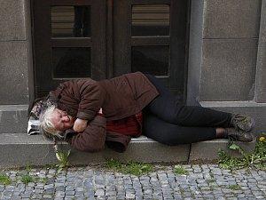Bezdomovec. Ilustrační snímek.