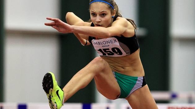 Jablonecká atletka Tereza Vokálová.