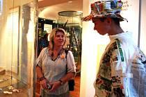 Muzeum skla a bižuterie Jablonec - muzejní noc v loňském roce.