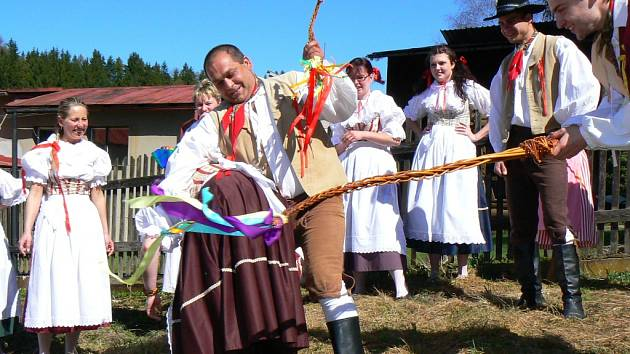 Tři volné a slunečné dny prožili Jablonečané nejen jako oslavu nejkrásnějších svátků roku Velikonoc, 2009.