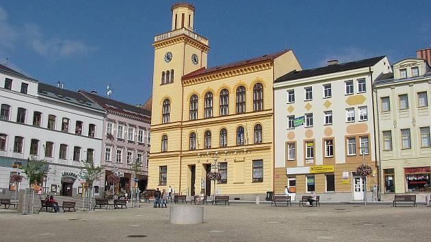 Městská knihovna Jablonec nad Nisou.
