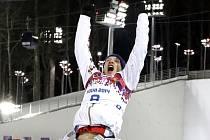 ZOH Soči 2014. Ondřej Moravec v biatlonu za stíhací závod 12,5 km získal stříbrnou medaili.