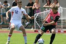 Česká jednadvacítka si před odletem na Euro v Dánsku zahrála proti Mladé Boleslavi B a vyhrála 8:1.