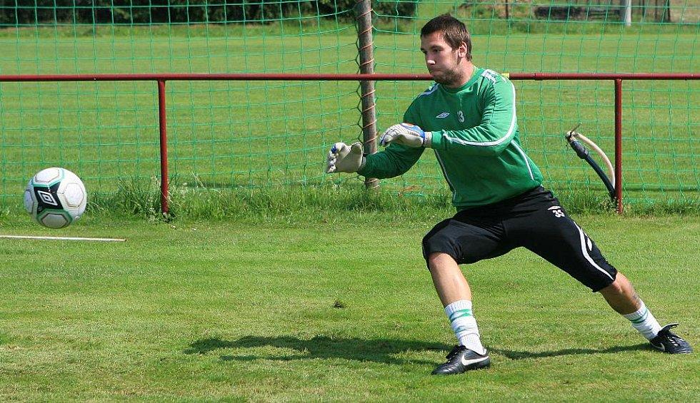 Baumit Jablonec získal na tři roky brankáře Jana Šebka z Chelsea.