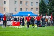 O pohár starosty města Tanvaldu, 22. ročník soutěže hasičských družstev v požárním útoku, proběhl 9. září na nově zrekonstruovaném stadionu v Tanvaldu. Hasičská soutěž byla zařazená do Jablonecké ligy.