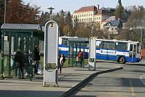 Tanvald autobusové nádraží.