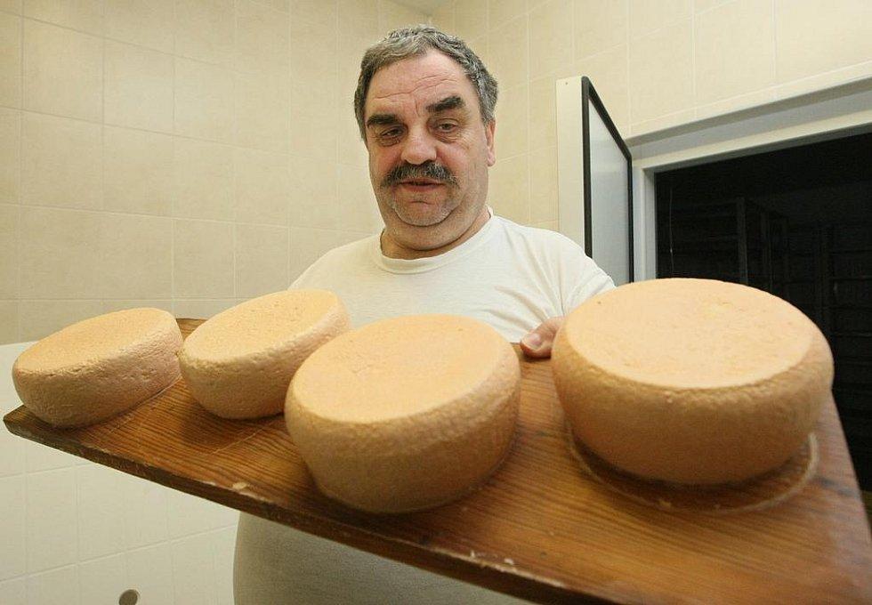 Pivní sýr zrající.