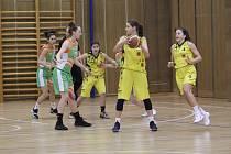 Na domácí palubovce začaly basketbalistky dvěma zápasy s těžkými soupeřkami z týmu Žabiny Brno B.
