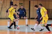 Utkání Jablonce (v modrém) proti Jerigu Plzeň