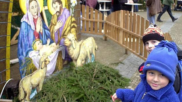 Vánoční trhy. Ilustrační snímek.