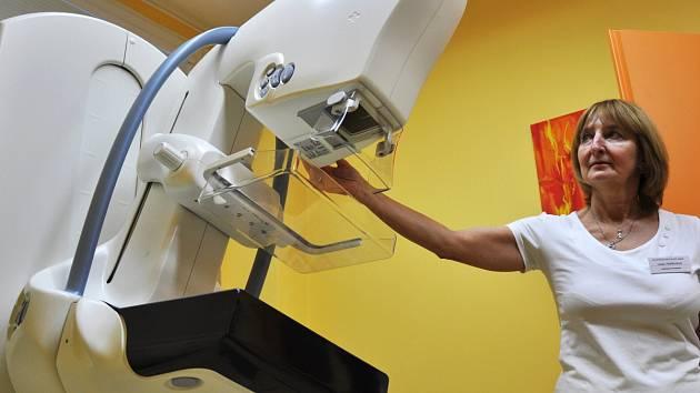 Mamograf. Ilustrační snímek