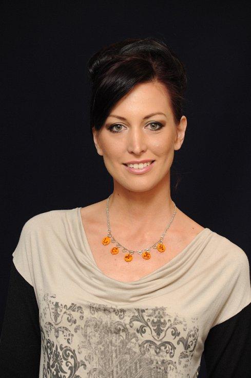 Modelka Ilona Žáková