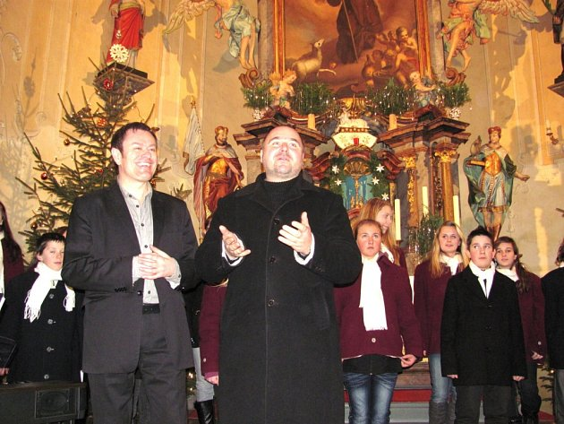 Vánoční koncert na druhý svátek v jizerskohorských Albrechticích.