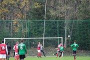 Zápas I. B třídy mezi Albrechticemi a béčkem Velkých Hamrů přinesl plný bodový zisk pro domácí mužstvo.