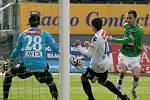 Baumit na jaře poprvé doma v lize vyhrál. Porazil Slovácko 1:0.