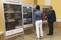 Výstava  Stop smrtelným nehodám není na jablonecké radnici poprvé.
