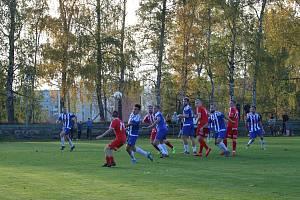Áčko Mšena v domácím zápase krajského přeboru přenechalo tři body soupeři. Nedálo góly.