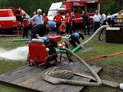 Sbor dobrovolných hasičů Velké Hamry. Soutěž v Hamrech.