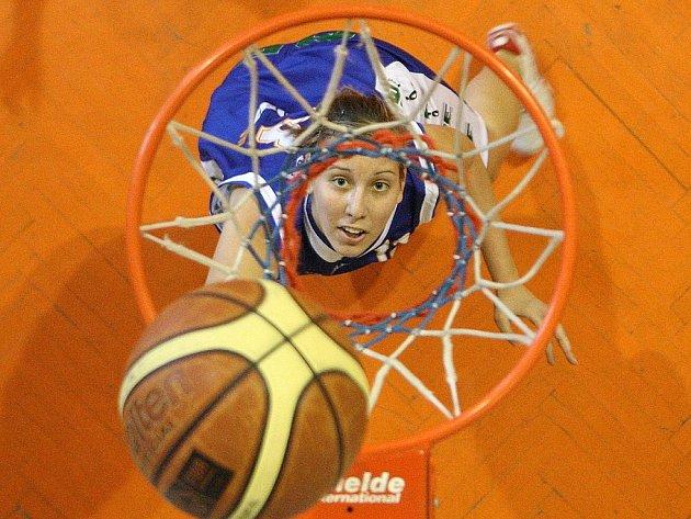 Basketbalové utkání žen. Ilustrační snímek.