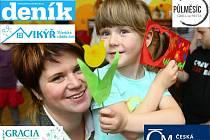Soutěž Jabloneckého deníku a Vikýře ke Dni matek.