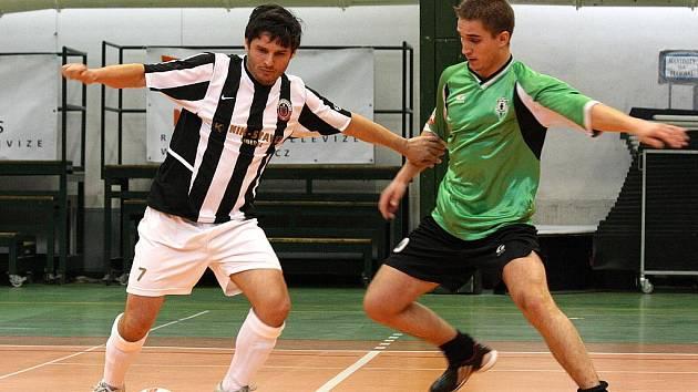 Futsalové utkání. Ilustrační snímek.