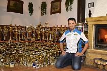 Milan Engel a jeho trofeje