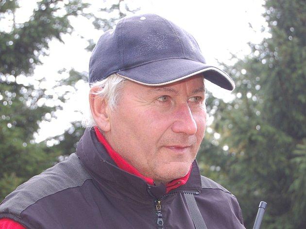 Karel Novák, psovod HS Špindlerův Mlýn