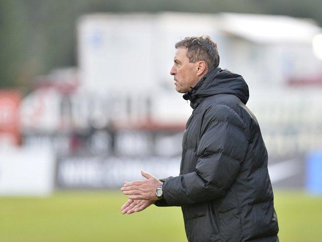 Hlavní trenér Jablonce Zdeněk Klucký.