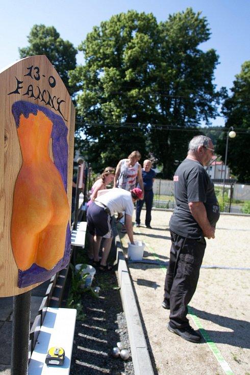 Pátý ročník Turnaje amatérů v pétanque v Železném Brodě