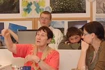 Blanka Včeláková studentům připomněla totalitní minulost.