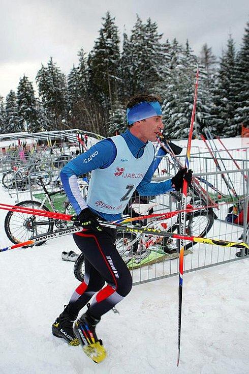 V sobotu pořádal TRI CLUB Jablonec mistrovství ČR v zimním triatlonu, které se konalo v lyžařském areálu Břízky.
