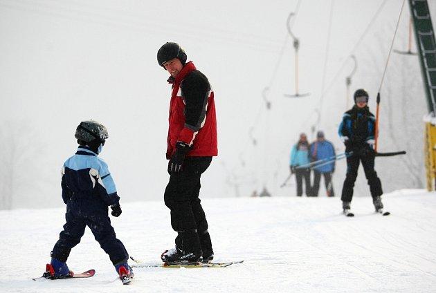 Tak se lyžuje U Čápa