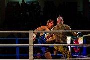 Galavečer bojových sportů, Iron Night Fight 3, proběhl 22. února v městské hale v Jablonci nad Nisou. Na snímku je Petr Kareš (vlevo) a Petr Kraft v kategorii K1 do 91 kilogramů.